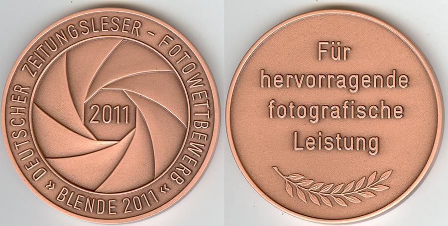 Medaille – Wettbewerb Blende 2011
