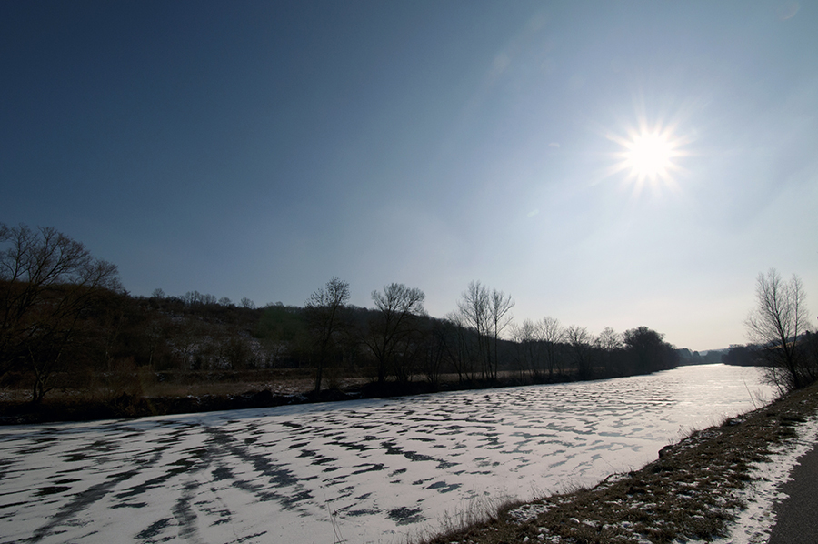 bei Grosbliederstroff-France – Saarland Entlang der Saar