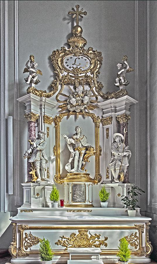 rechter Seitenaltar – Basilika St. Johann